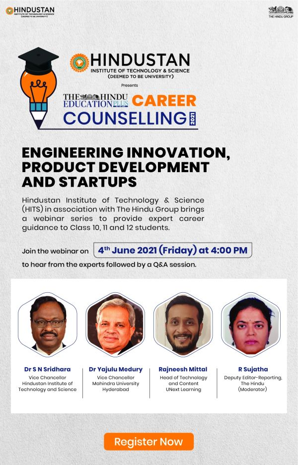 The Hindu Education Plus Career Counseling Webinar