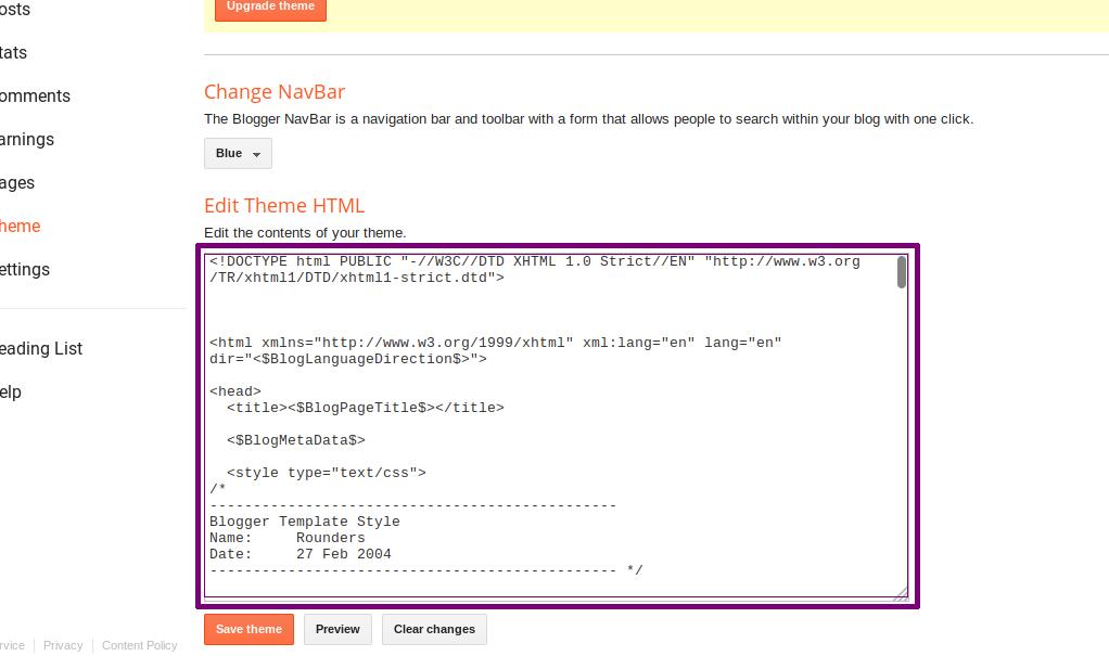 Blogspot 301 Redirection step 4