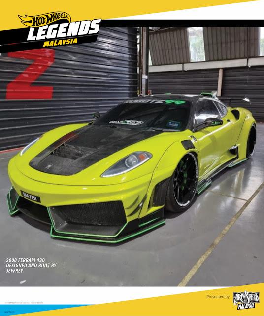 Hot Wheel Legends Tour 2021 Malaysia
