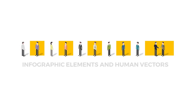 Infographic Elements and Human Vectors Powerpoint Templates Slide2