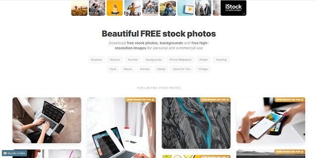 Cara Download gambar gratis resolusi tinggi