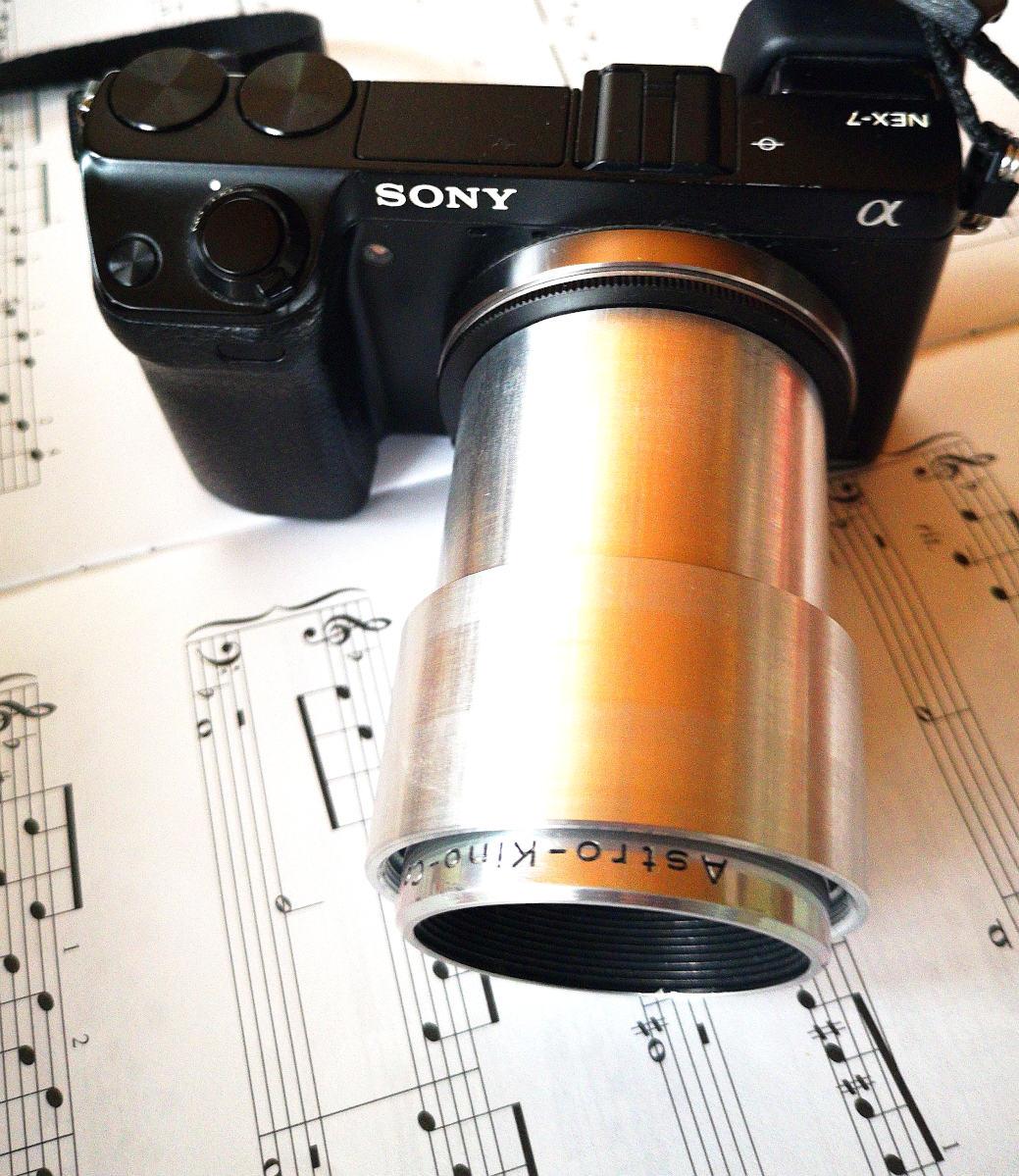 #293 Astro-Kino-Color IV f1.6 50mm - 1€ Projekt - Erstes Licht