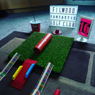 Putting at home with the Filwood Fantastic Mini Golf Club