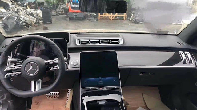 Interior Tenaga Super Mercedes Class 2021