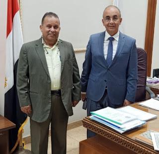 بداية مبشرة مع رئيس الجامعة الأستاذ الدكتور عثمان شعلان