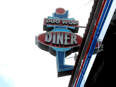 Doo Wop Diner in Wildwood New Jersey