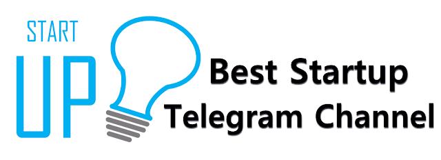 Best Startup Telegram Channels 2020