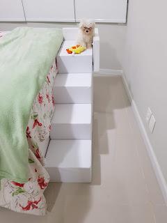 colchão cama box escada