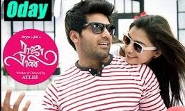 Raja Rani Tamil Movie Songs   Oday Oday Song   Nazriya proposes to Arya   Santhanam