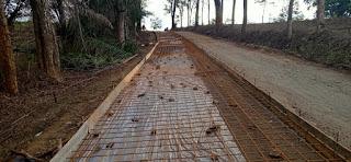 Kondisi Jalan Bantur-Sumbermanjing Kulon Sebelum Pengecoran