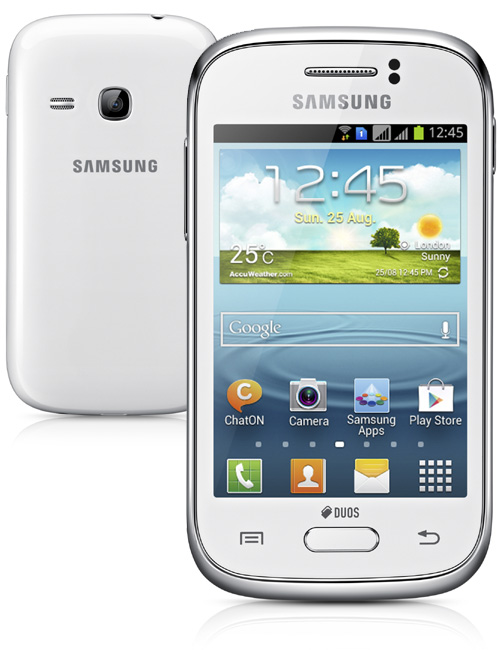 Samsung Galaxy Young DS Pictures