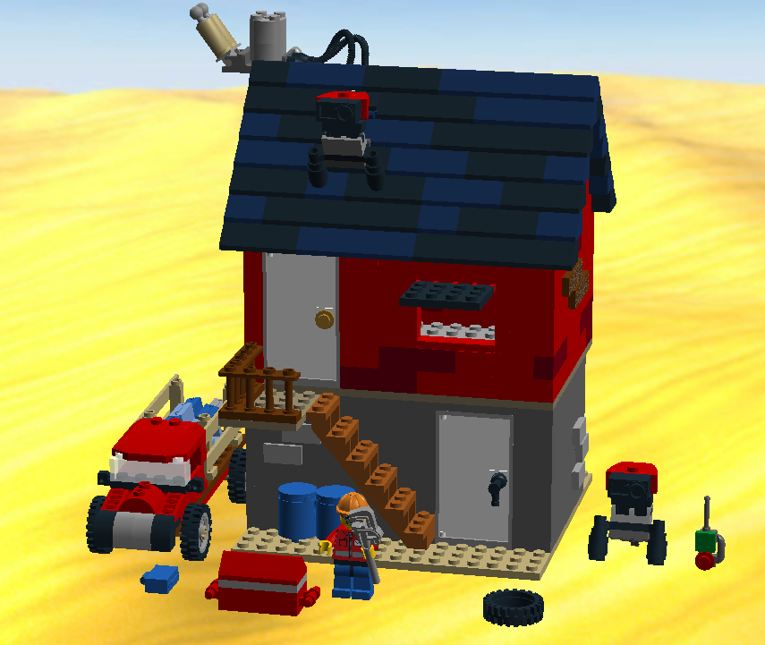 On the Subject of Team Fortress 2: LEGO Moc: The Engineer