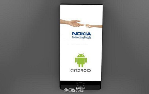 Nokia curved screen all display