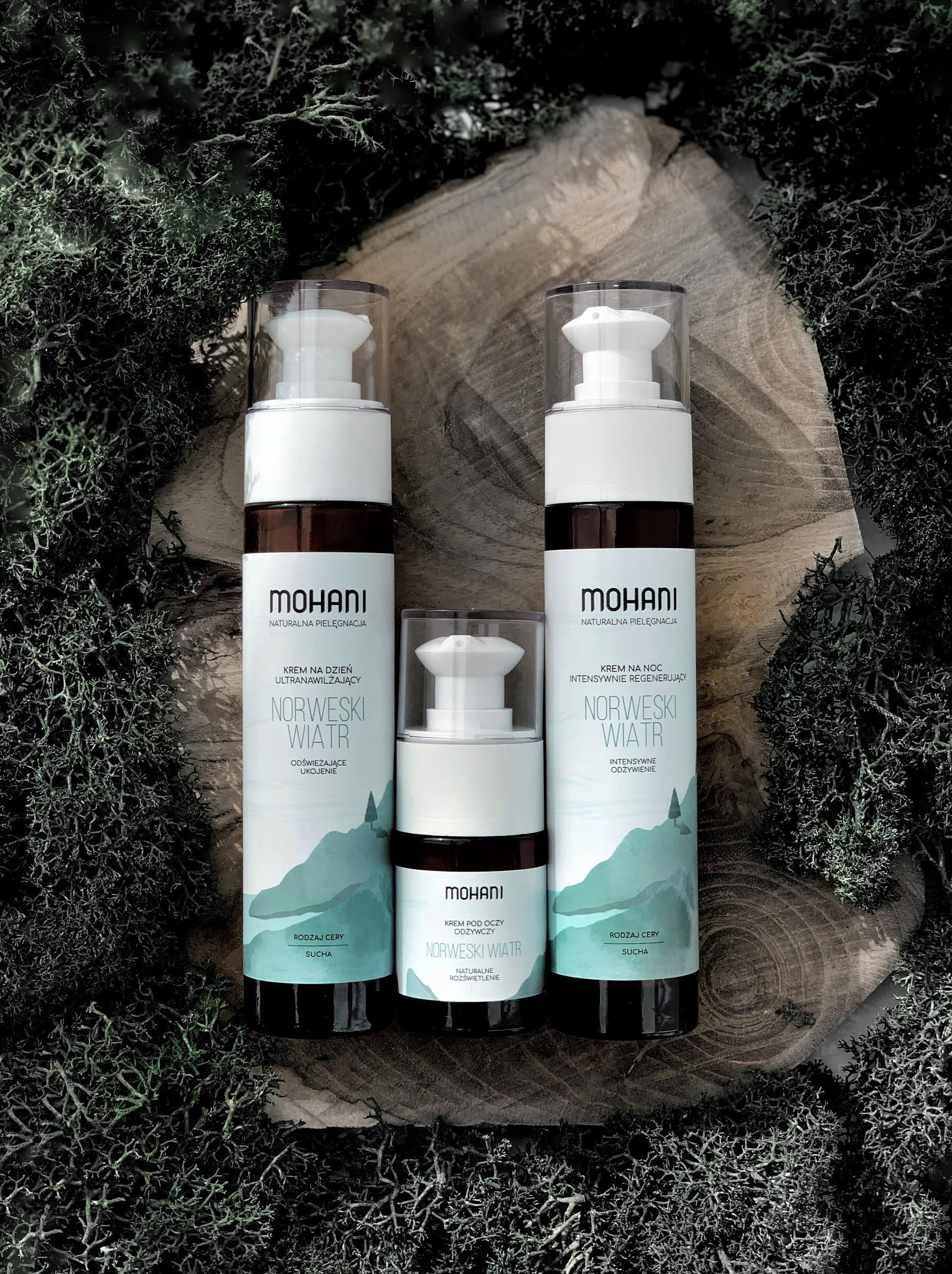 Norweski Wiatr - nowa seria kosmetyków Mohani