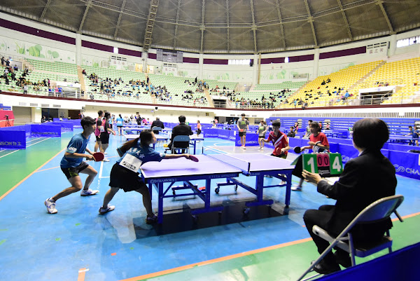 全國桌球錦標賽彰化開打 以球會友高手過招