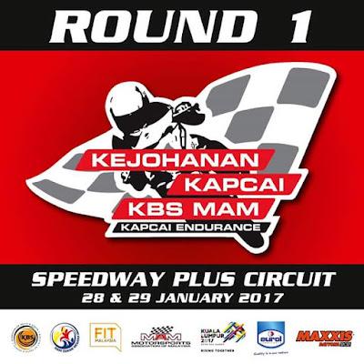 Kejohanan Kebangsaan KBS MAM Kapcai Endurance 2017