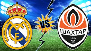 مشاهدة مباراة ريال مدريد و شاختار اليوم في دور المجموعات دوري ابطال اوروبا