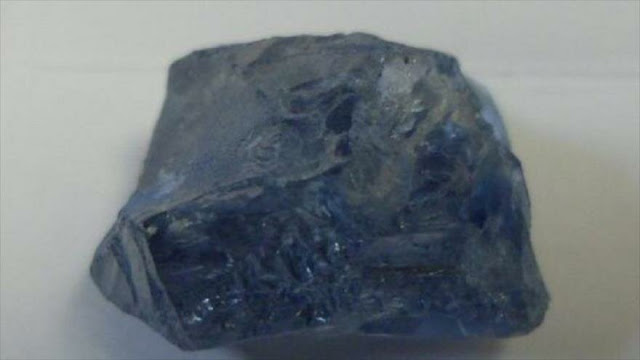 Hallan un raro diamante azul de calidad gema en Sudáfrica