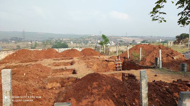 Earthwork foundation by Kumud Innovator