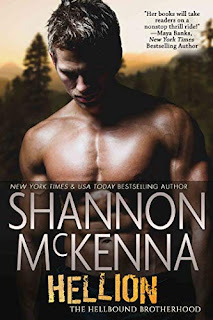 Hellion (The Hellbound Brotherhood Book 1) - Romantic Suspense book promotion by Shannon McKenna
