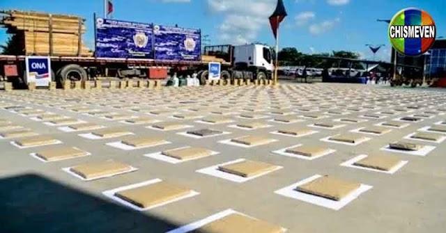 936 panelas de marihuana escondidas en un camión de madera en Carabobo