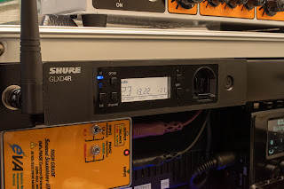 GLXD14R ではすべての操作や表示が受信機側に集約されている