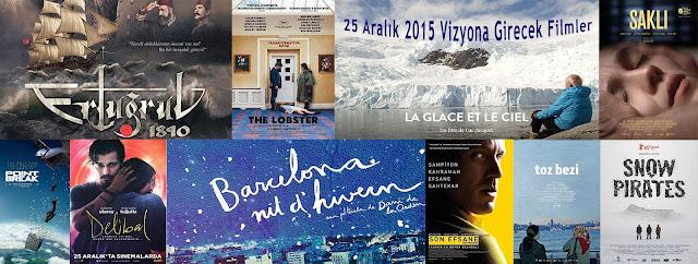 Vizyona Girecek Filmler 25 Aralık 2015
