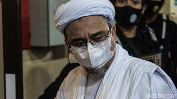 Divonis 8 Bulan Penjara, Kapan Habib Rizieq Bebas?