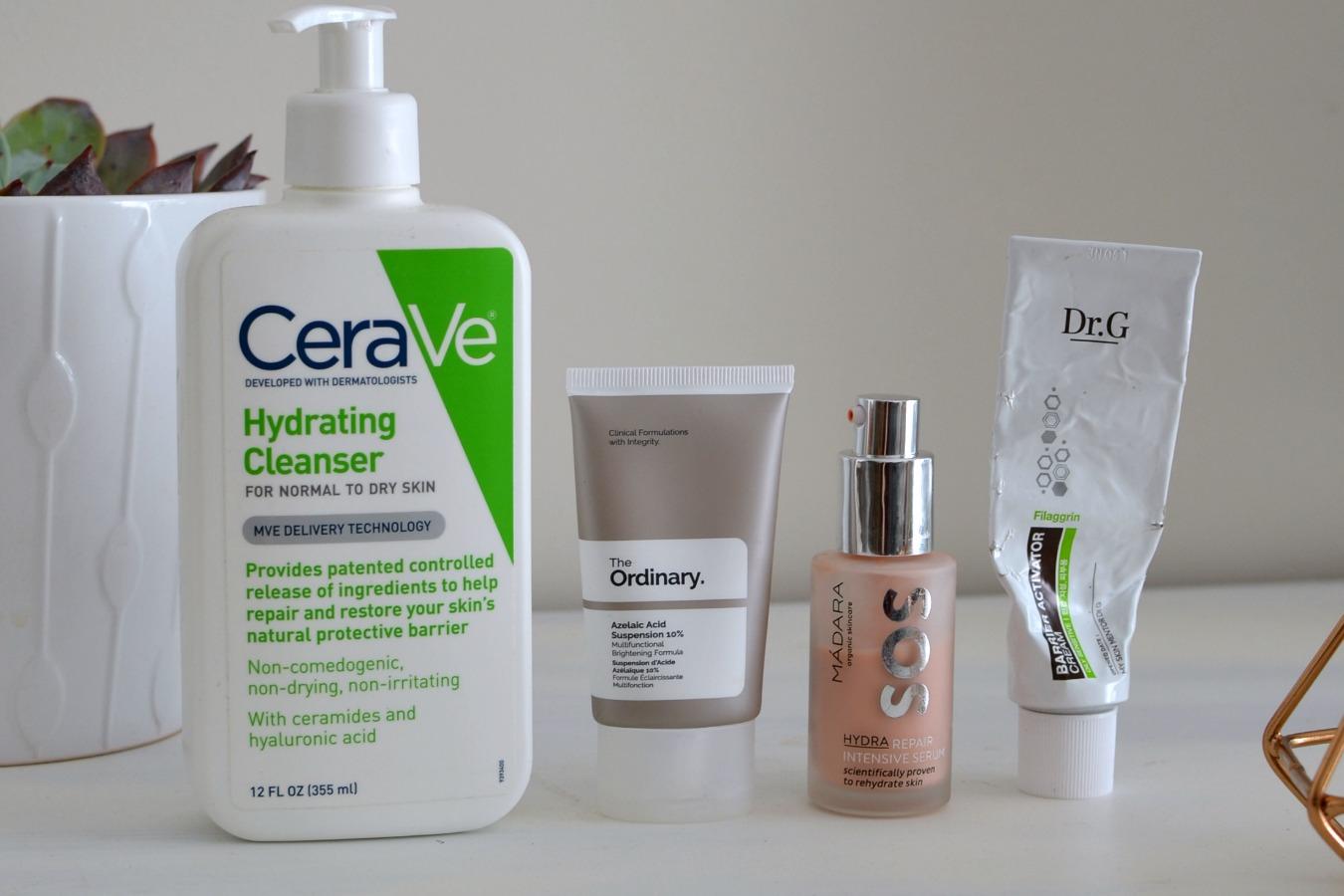 rutina para piel reactiva (foliculitis, acné)