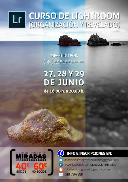 Curso Lightroom Ceuta - 27, 28 y 29 de junio