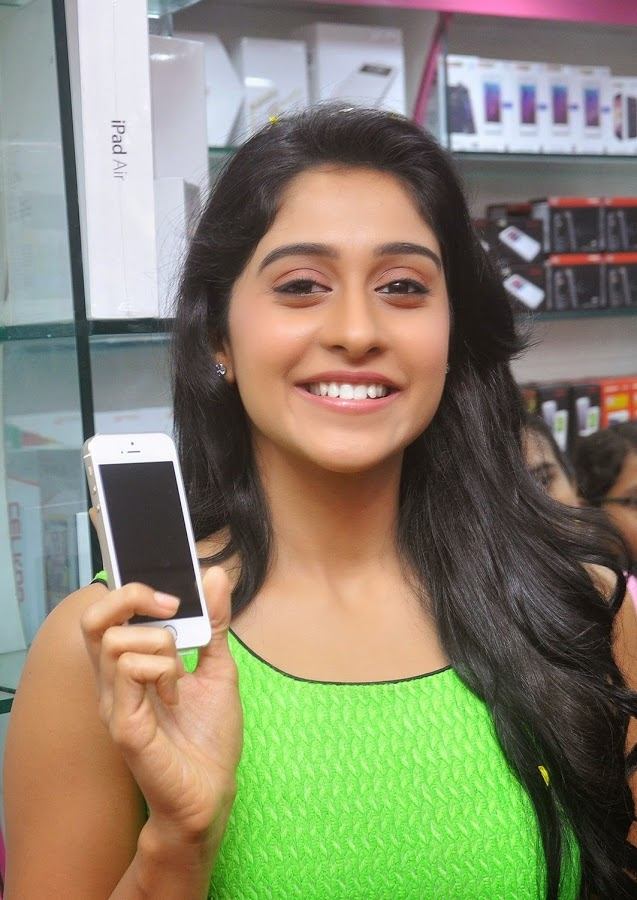 Regina Cassandra Latest Photoshoot In Green Color Dress