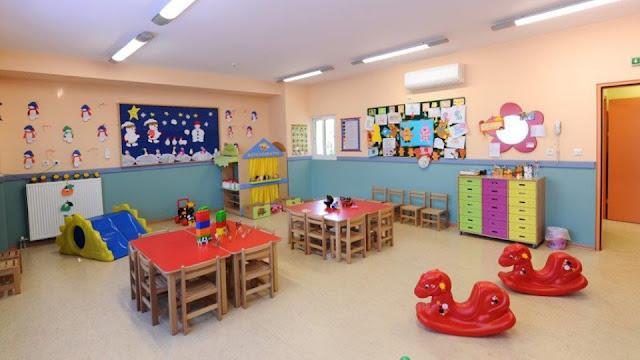 Ανοίγουν την Παρασκευή οι αιτήσεις για δωρεάν θέσεις σε παιδικούς σταθμούς