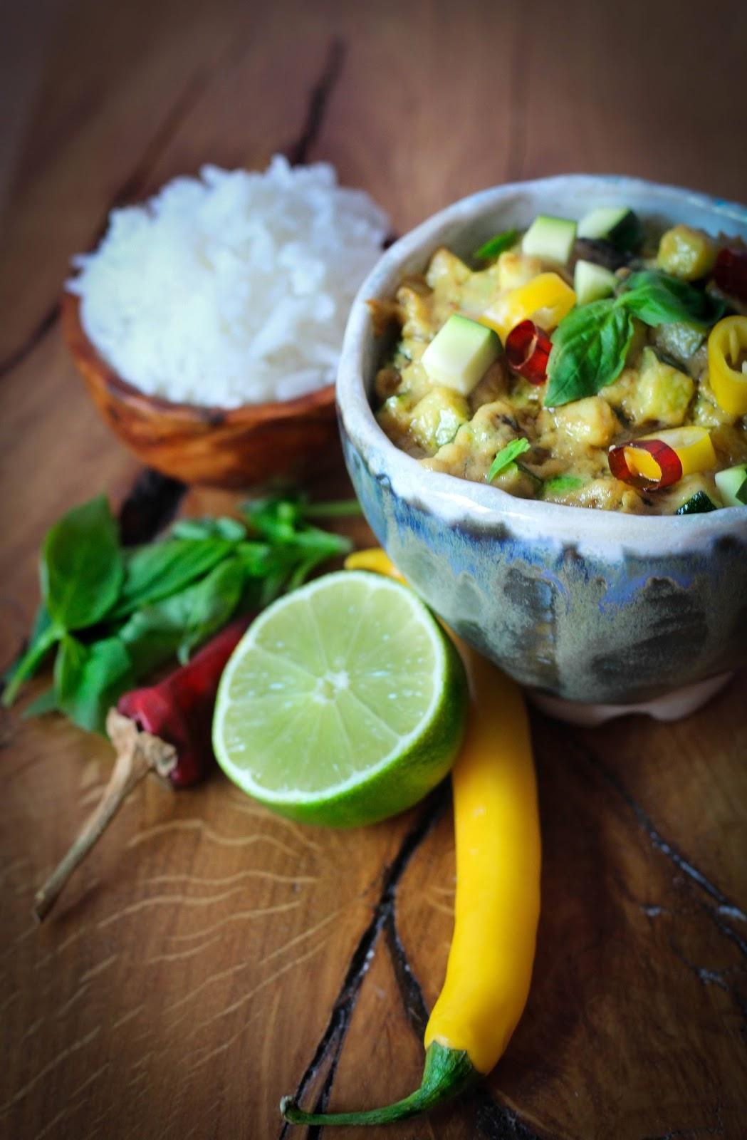 Dulce Muffin: Curry verde de pescado