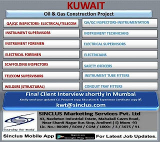 Oil and Gas Construction Project in Kuwait