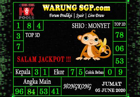 Prediksi HK Malam Ini 05 Juni 2020 - Prediksi WarungSGP