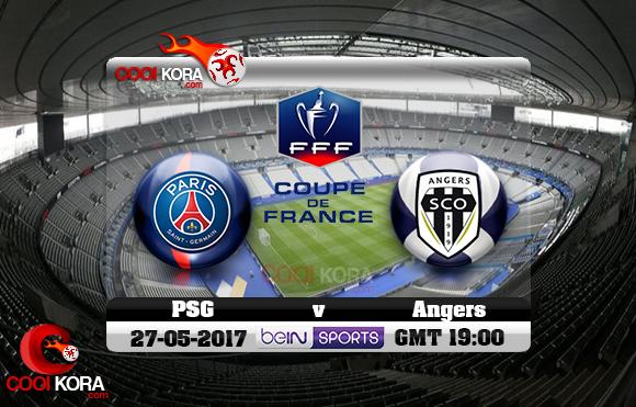 مشاهدة مباراة باريس سان جيرمان وأنجيه اليوم 27-5-2017 في نهائي كأس فرنسا