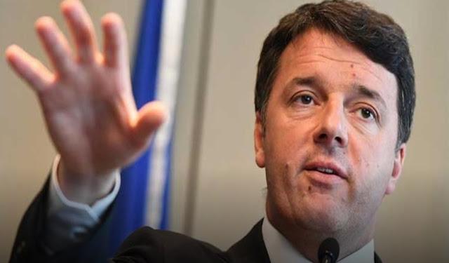 رئيس الوزراء الإيطالي السابق ماتيو رينزي يعلن عزمه الاستقالة من الحزب الديمقراطي وتشكيل حزب جديد