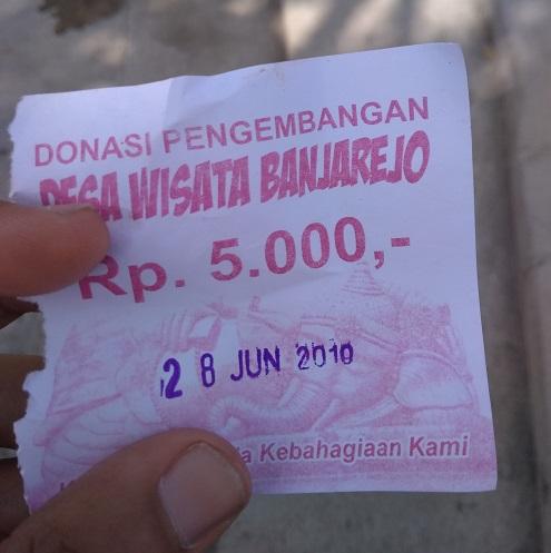 Tiket Masuk Wisata Banjarejo