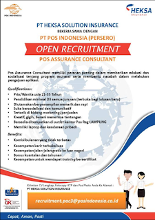 Open Recruitment di PT. HEKSA SOLUTION INSURANCE LAMPUNG Terbaru Maret 2018