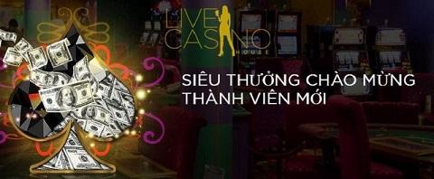 Sòng bạc live casino house luôn có số lượng thành viên tham gia đông đảo