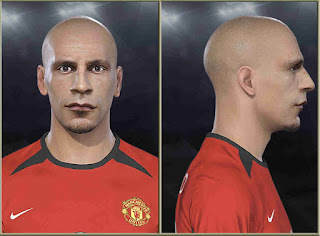 PES 2019 Faces Rio Ferdinand by Stels