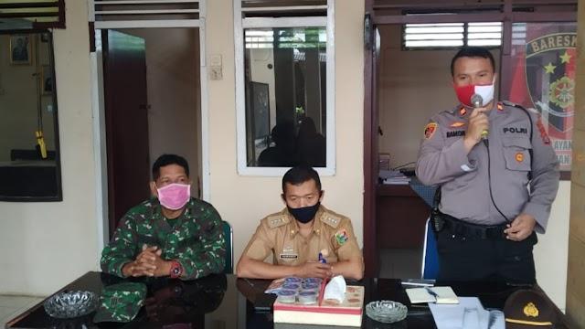 Cegah Pencurian Kopi Basah di Ulu Belu, Polsek Pulau Panggung, Uspika dan Warga Gelar Diskusi Bersama