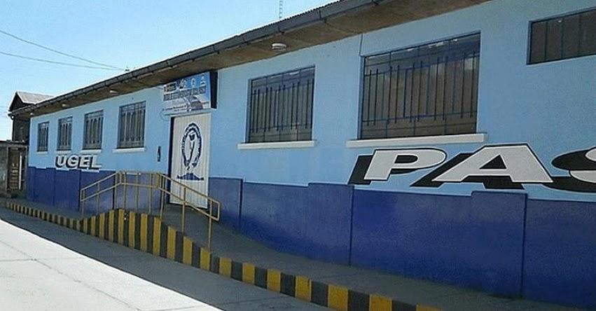 INCREÍBLE: UGEL Pasco declara ganador a proveedor sancionado