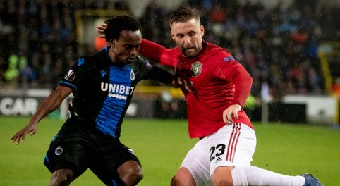 Club Brugge vs Manchester United 1-1 Highlights