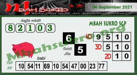 Syair SGP Senin 06 September 2021