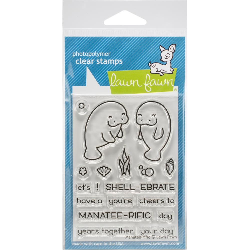 *NEU Lawn Fawn Clearstempel Manatee