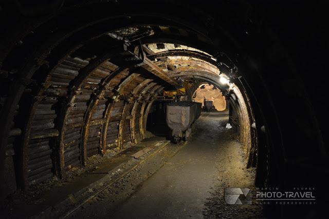 Zdjęcia z podziemnej trasy turystycznej w Nowej Rudzie - Muzeum Górnictwa w Nowej Rudzie to największa atrakcja Nowej Rudy z wieloma eksponatami i kolejką podziemną
