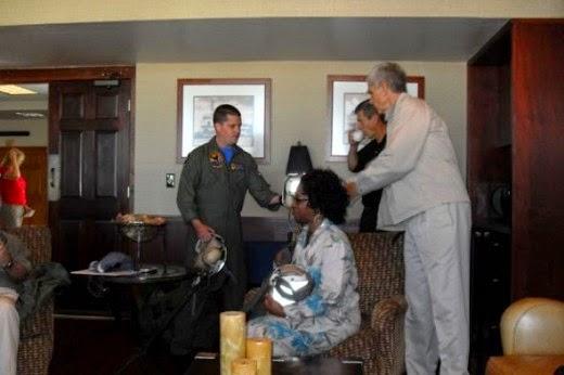 Distinguished Visitors Arrive NAS Jax