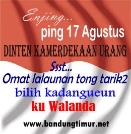 DP BBM HUT RI, DP BBM Bahasa Sunda HUT RI