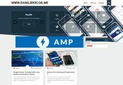 Template Purple Amp Redesign BangJekBlog Sudah Valid AMP